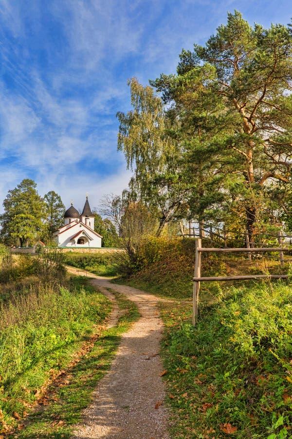 Het dorp Behovo stock afbeeldingen
