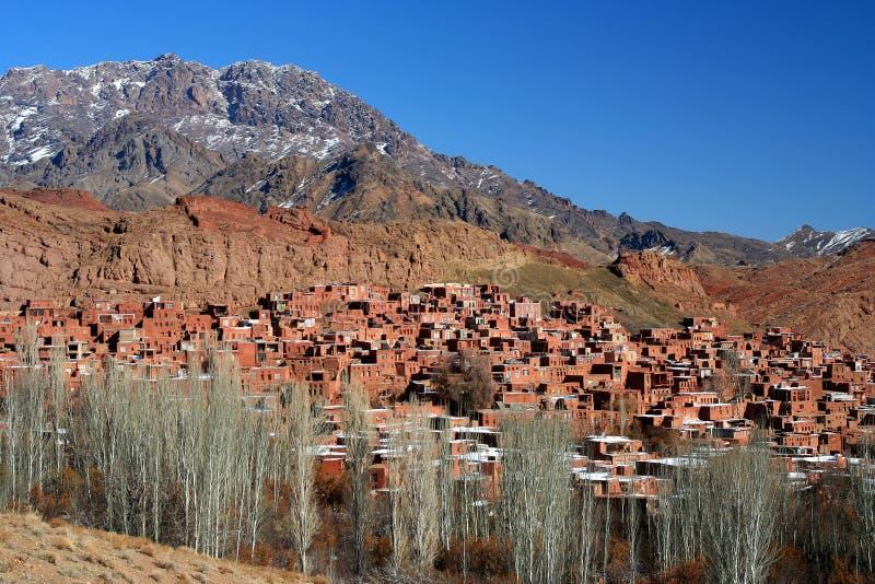 Het dorp van Abyaneh royalty-vrije stock foto
