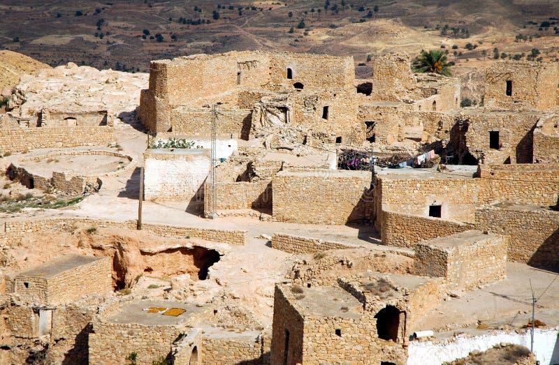 Het dorp van Berber royalty-vrije stock foto