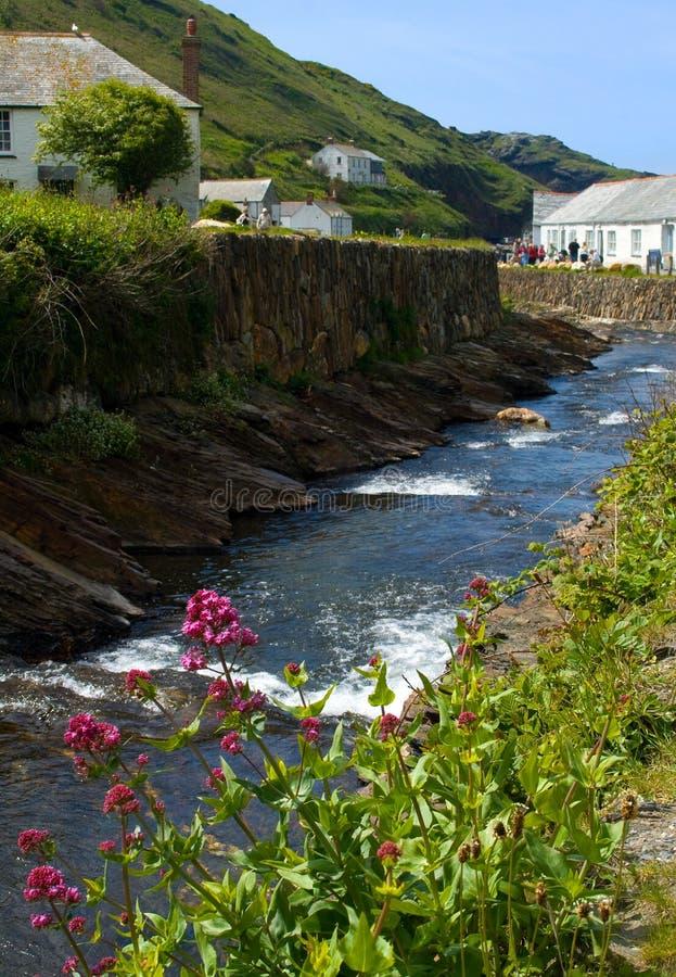 Het Dorp van Cornwall stock foto