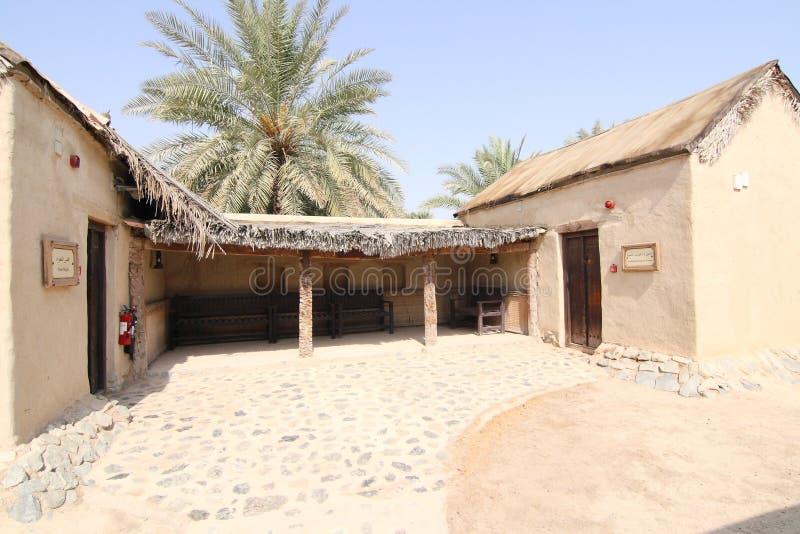 Het Dorp van de Erfenis van Hatta, Doubai royalty-vrije stock fotografie