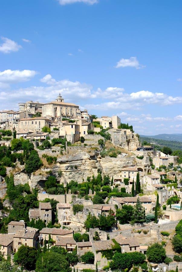 Download Het dorp van Gordes stock afbeelding. Afbeelding bestaande uit bestemmingen - 10777845
