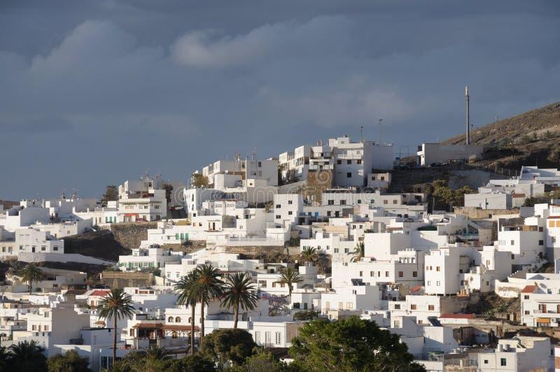 Het Dorp van Gran Canaria stock foto