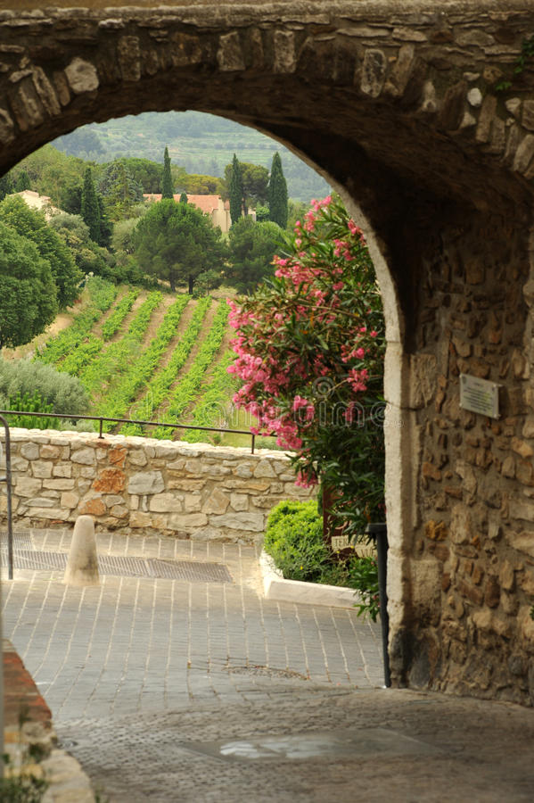 Het dorp van Le Castellet royalty-vrije stock foto