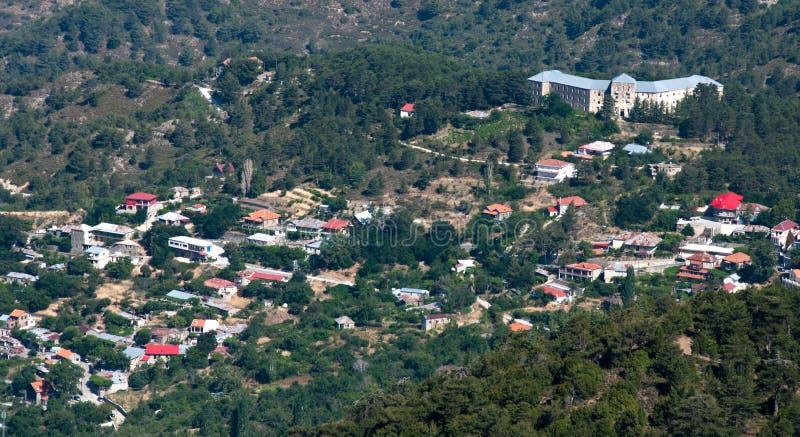 Het Dorp van Prodromos, Cyprus stock foto's