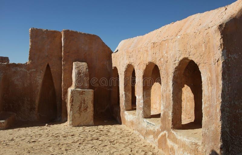 Het dorp van Star Wars stock afbeelding