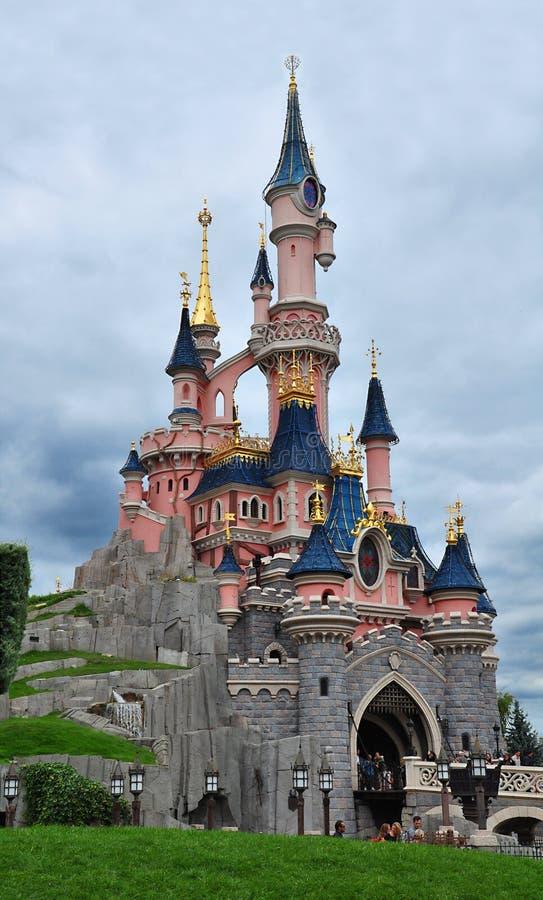 Het Dorp van Walt Disney Stà ¼ dyoları ve Disney, Parijs stock afbeeldingen