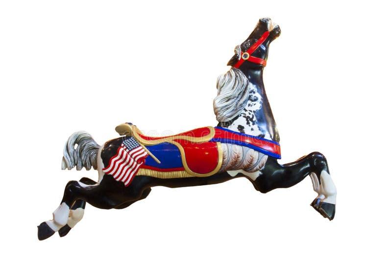 Het Dorpsmuseum van Burnaby van het carrouselpaard royalty-vrije stock fotografie