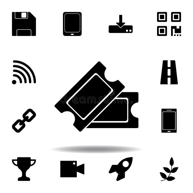 Het dossier bewaart optiepictogram De tekens en de symbolen kunnen voor Web, embleem, mobiele toepassing, UI, UX worden gebruikt royalty-vrije illustratie