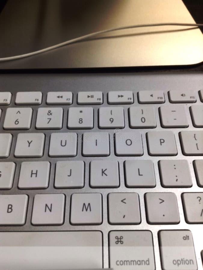 Het draadloze toetsenbord van Apple royalty-vrije stock afbeelding