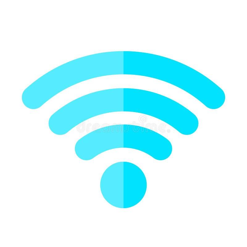 Download Het Draadloze Vectorsymbool Van Internet Vector Illustratie - Illustratie bestaande uit emblemen, achtergrond: 107703780