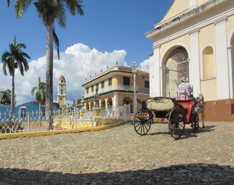 Het draven rond Trinidad stock afbeeldingen