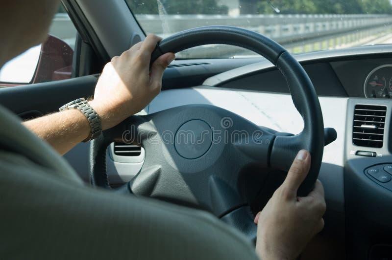 Het drijven van de hoge snelheid (Nissan) stock afbeeldingen