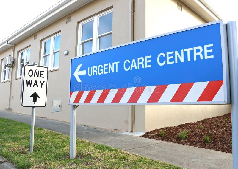 Het Dringende Zorgcentrum maakt deel uit van het medische gebied van Maryborough het ziekenhuis en stock foto's