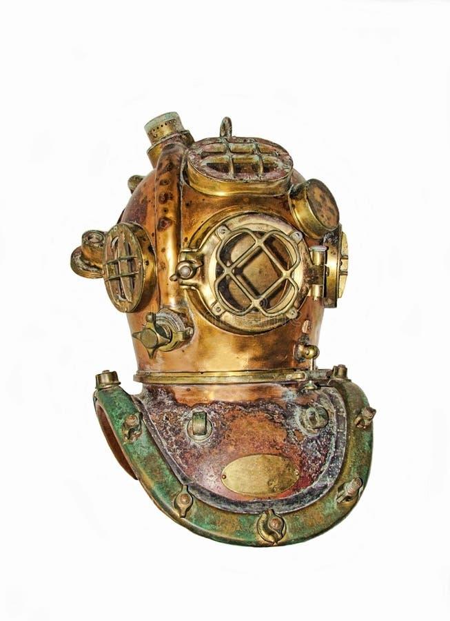 Het duiken helm royalty-vrije stock afbeelding
