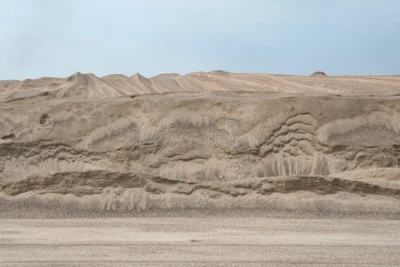 Het duin van het zand stock afbeeldingen