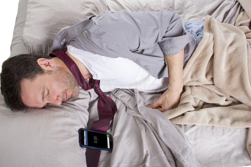Het dutten Alarm stock fotografie