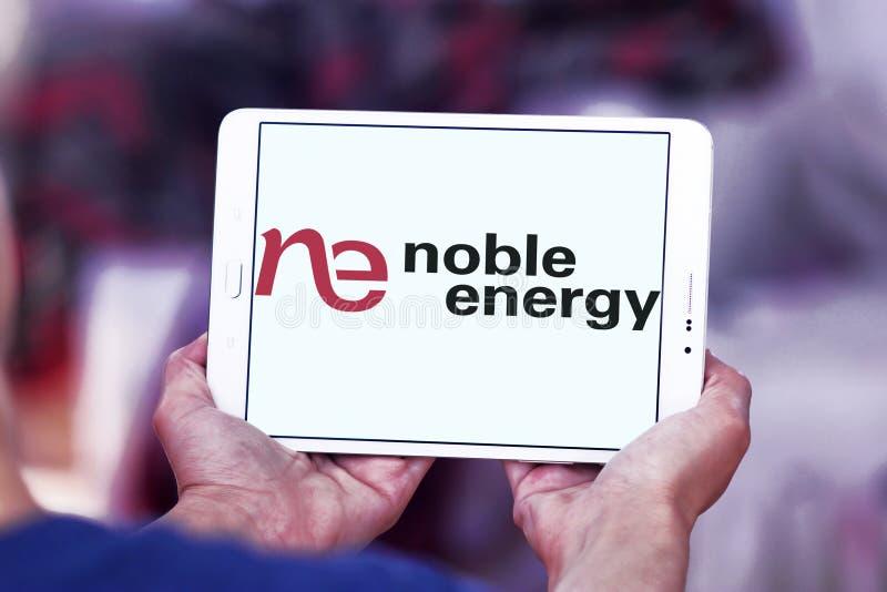 Het edele embleem van het Energiebedrijf royalty-vrije stock foto's
