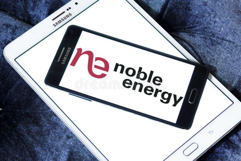 Het edele embleem van het Energiebedrijf royalty-vrije stock foto