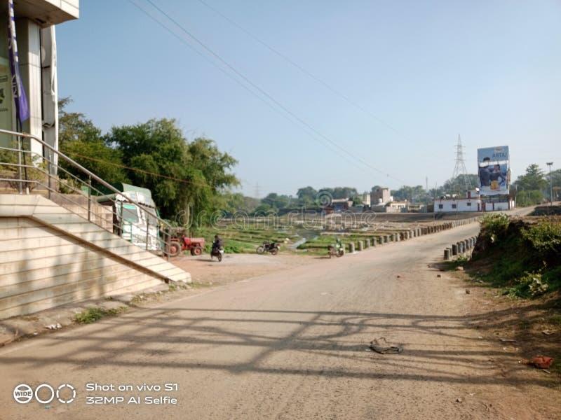 Het is een foto van de Darba rivierbrug royalty-vrije stock fotografie