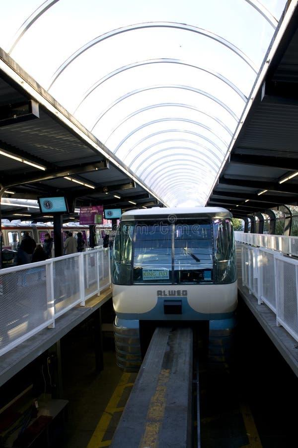 De Monorail van het Centrum van Seattle royalty-vrije stock fotografie
