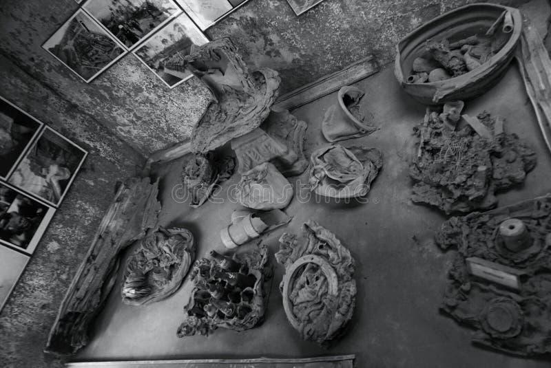Het Effect van Merapi royalty-vrije stock afbeeldingen