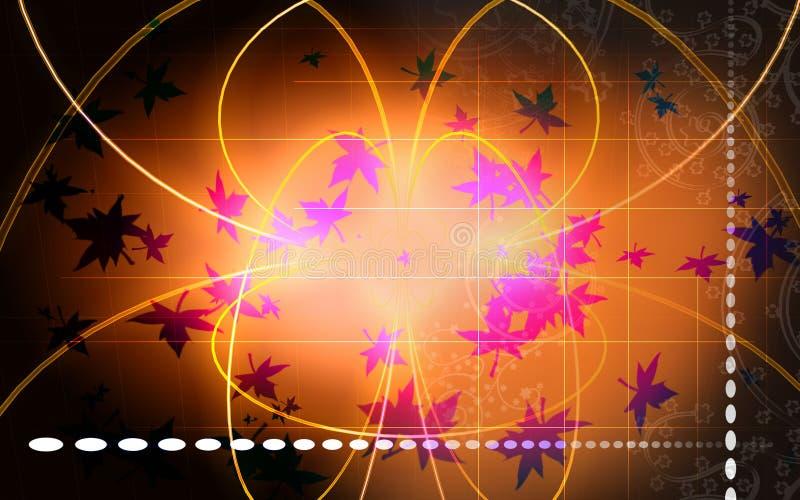 Het effect van Ray vector illustratie