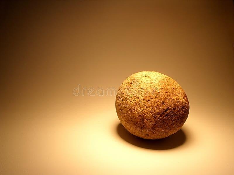 Het ei van de steen royalty-vrije stock foto