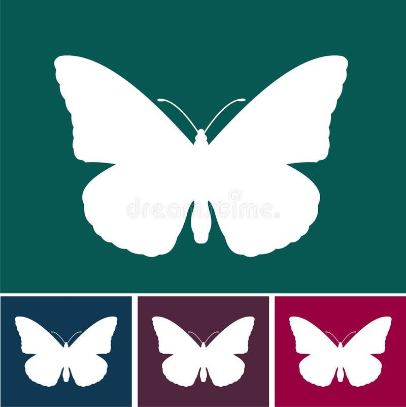 Het eigentijdse ontwerp van de Vlinder vector illustratie