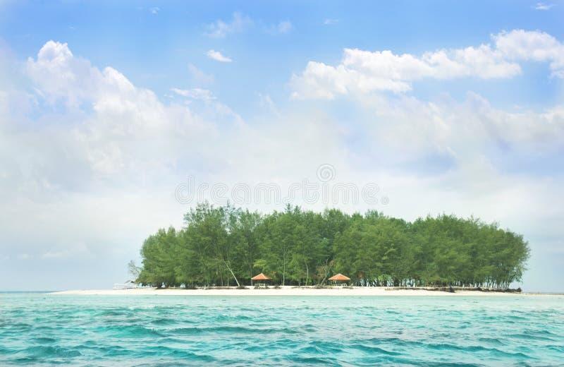 Het eiland royalty-vrije stock afbeeldingen