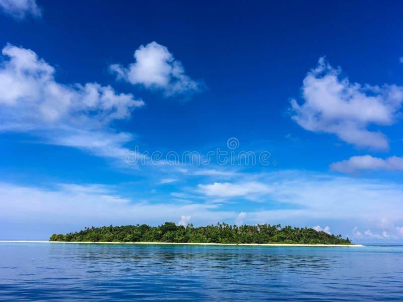Het eiland royalty-vrije stock fotografie