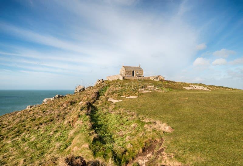 Het Eiland bij St Ives stock foto's