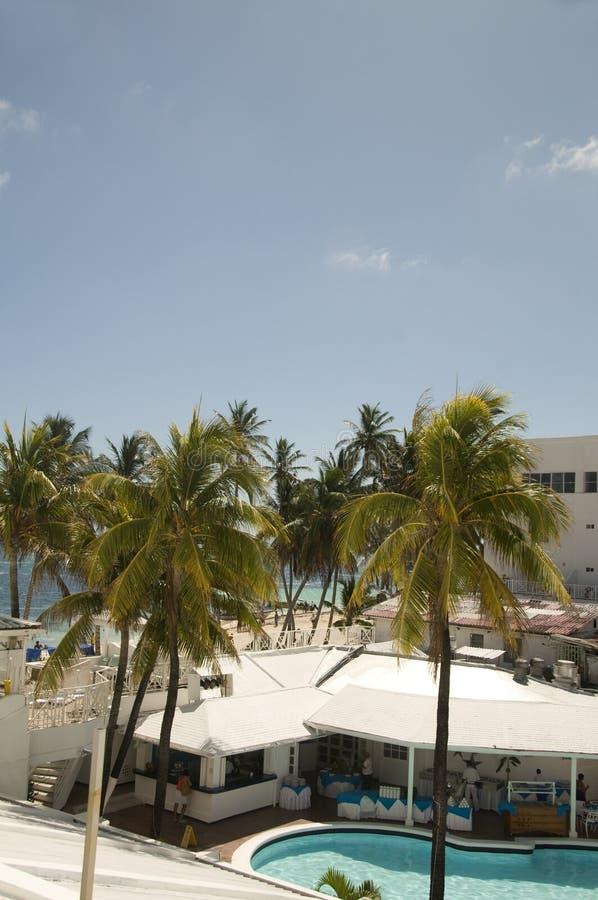 Het Eiland Colombia van de mening San Andres van het strand royalty-vrije stock foto