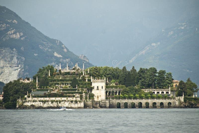Het eiland Italië van Bella van Isola stock afbeeldingen