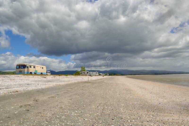 Het eiland Nieuw Zeeland van het noorden royalty-vrije stock foto