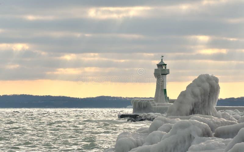Het Eiland Rügen van de vuurtoren royalty-vrije stock foto