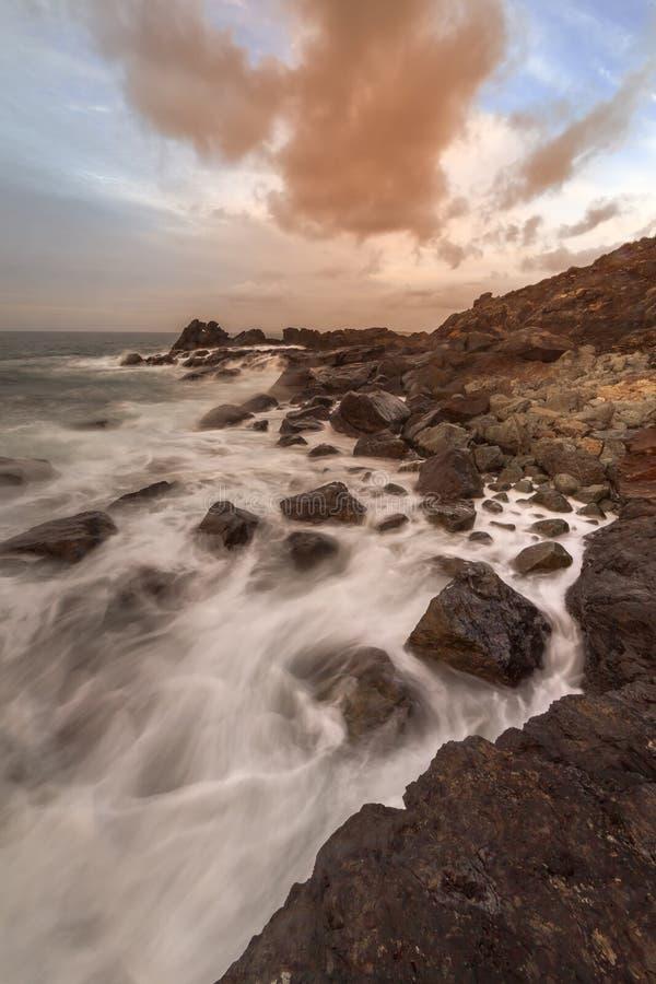 Het Eiland, St Ives stock foto