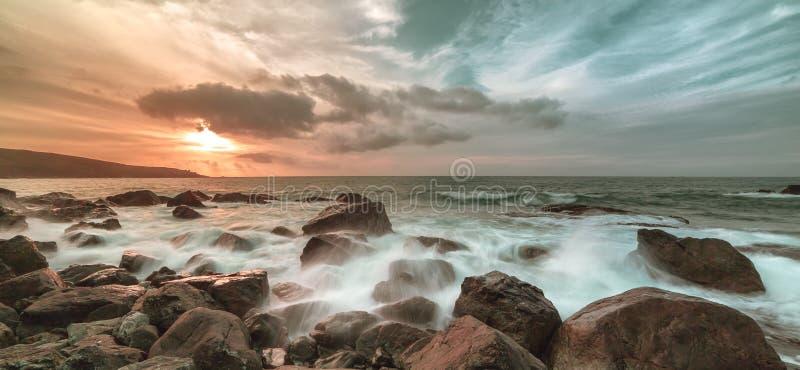 Het Eiland, St Ives stock fotografie