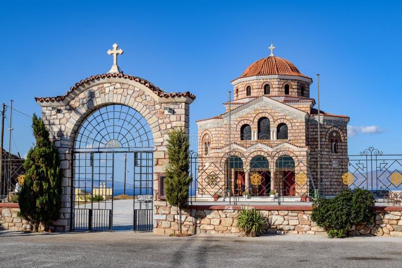 Het Eiland Syros royalty-vrije stock foto
