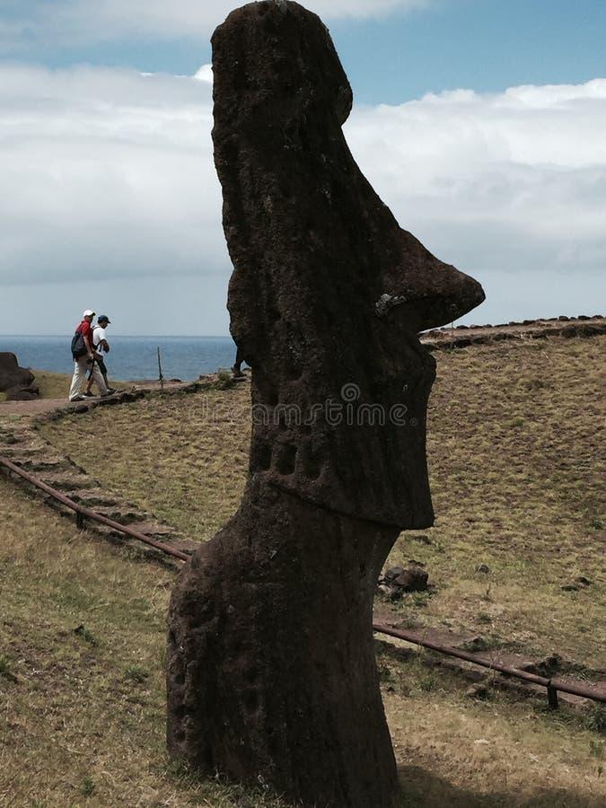 Het Eiland Threesome van Pasen stock foto's