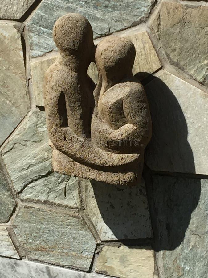 Het Eiland Threesome van Pasen stock afbeelding