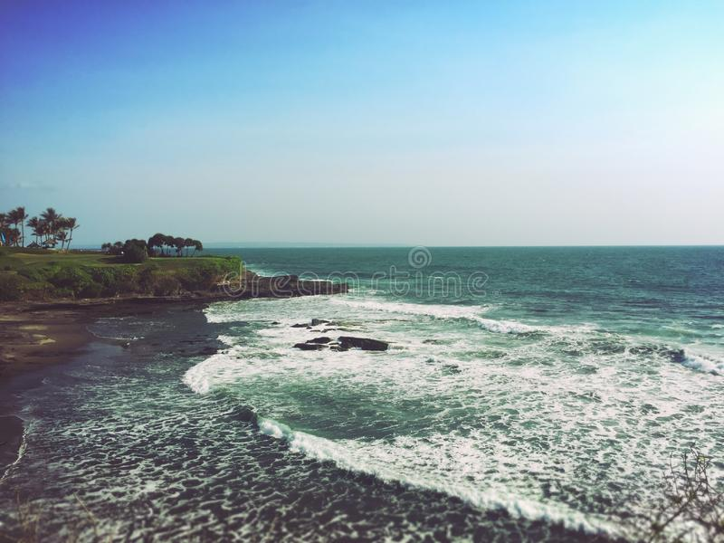 Het eiland Uluwatu van Bali royalty-vrije stock fotografie