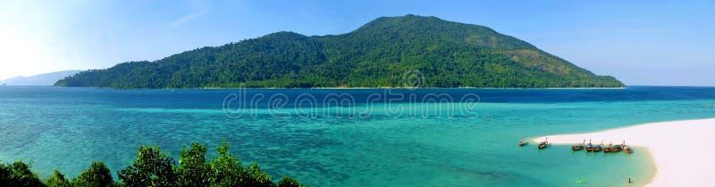 Het eiland van Adang van Kho stock afbeelding