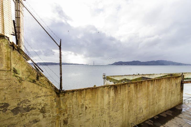 Het Eiland van Alcatraz, San Francisco, Californië stock foto