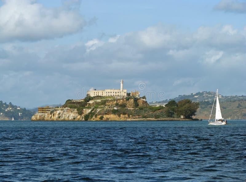 Het Eiland van Alcatraz, San Francisco, Californië stock fotografie