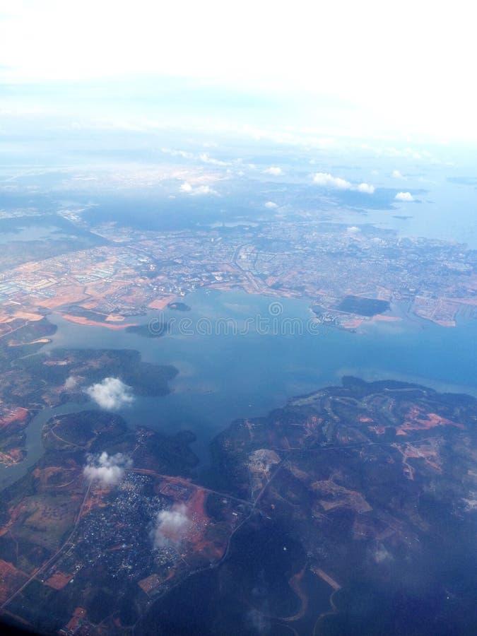 Het eiland van Bali stock foto's