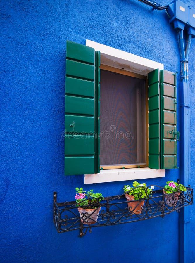 Het Eiland van Burano Venetië Italië stock fotografie