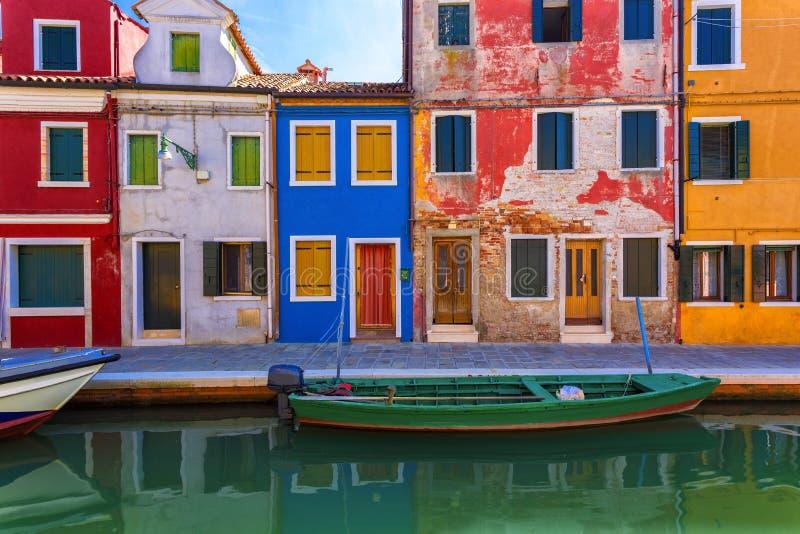 Het eiland van Burano, Venetië, Italië royalty-vrije stock foto