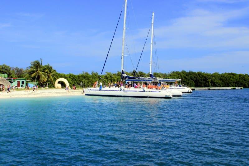 Het eiland van Cuba royalty-vrije stock afbeeldingen