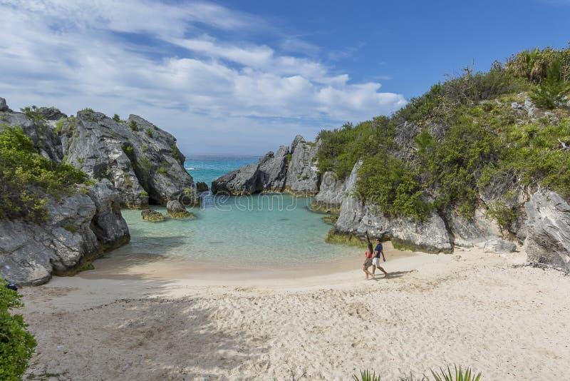 Het eiland van de Bermudas stock afbeelding
